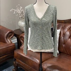 - Cozy knit top Almost famous size large